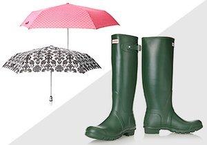Rain or Snow: Galoshes & Umbrellas