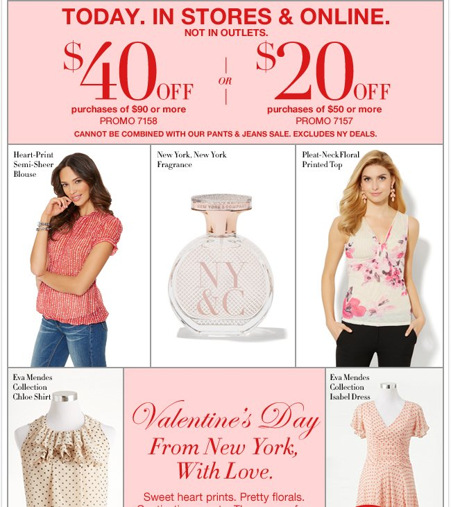 Save Up to $40 In Stores & Online!