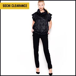 Sochi Dedicated Clearance: Tops & Bottoms for Her