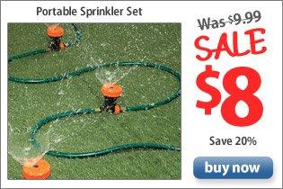Portable Sprinkler Set