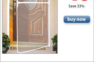 Deluxe Instant Screen Door