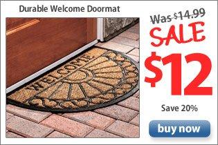 Durable Welcome Doormats