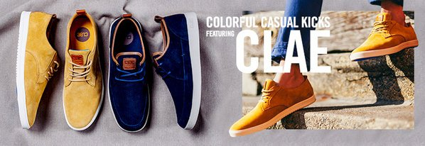 Shop NEW Clae: Colorful Casual Kicks