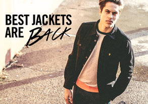 Shop Farah: Best Jackets are BACK