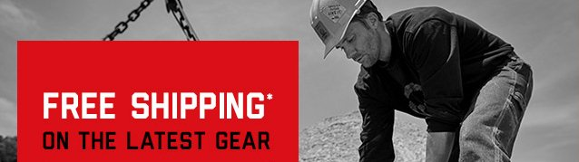 FREE SHIPPING* ON THE LATEST GEAR
