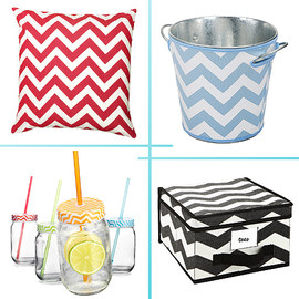 Design Trend: Chevron Housewares