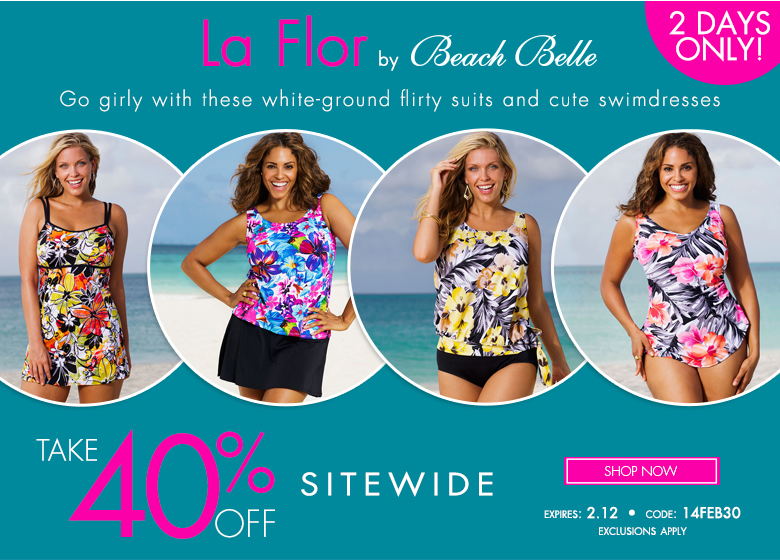 2 days only - La Flor - extra 40% off sitewide