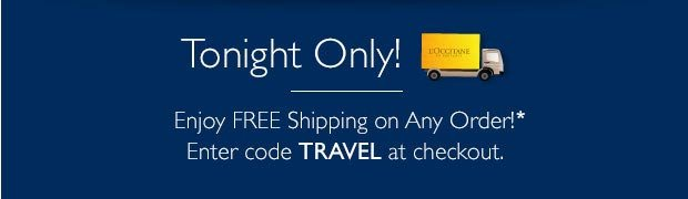 Tonight Only! Free Shipping