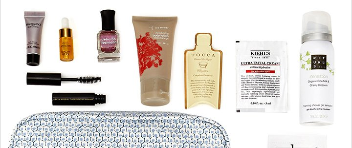 Spend $250 on cosmetics and fragrances and receive a cosmetics bag filled with our favorites!