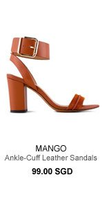Leather Sandals 99.00 SGD