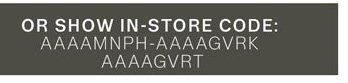 In-Store Code