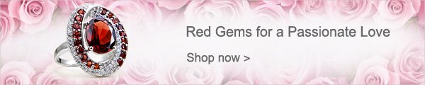 Red Gems for a Passionate Love