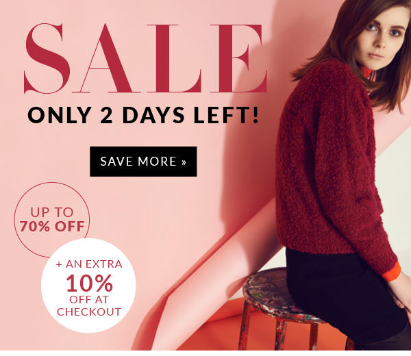 Sale Only 2 Days Left!