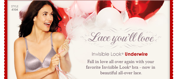 Style 4104 :: Invisible Look(R) Underwire Bra