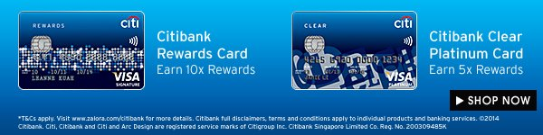 Earn up to 10X rewards when you use Citibank