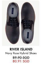 Navy ruse hybrid shoes for 89.90SGD