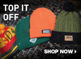 Top It Off with Hats + Beanies