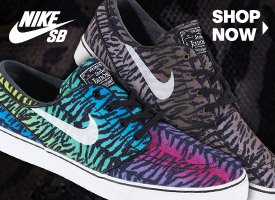 New Tiger Stripe Janoskis from Nike SB