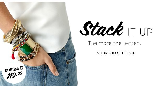 Stack It Up. Shop Bracelets