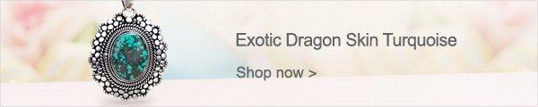 Exotic Dragon Skin Turquoise