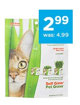 Pet Greens Garden Pet Grass Self-Grow Kit only $2.99