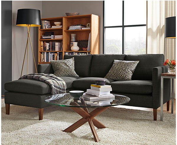 Kent sofa with chaise