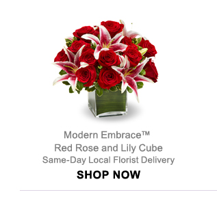Modern Embrace™ Same-Day Local Florist Delivery Shop Now
