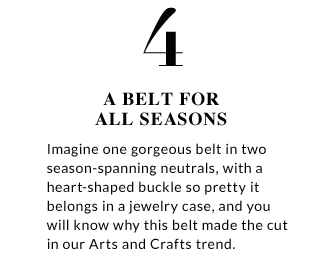 4. A belt for all seasons