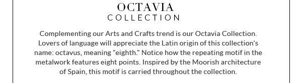 OCTAVIA COLLECTION