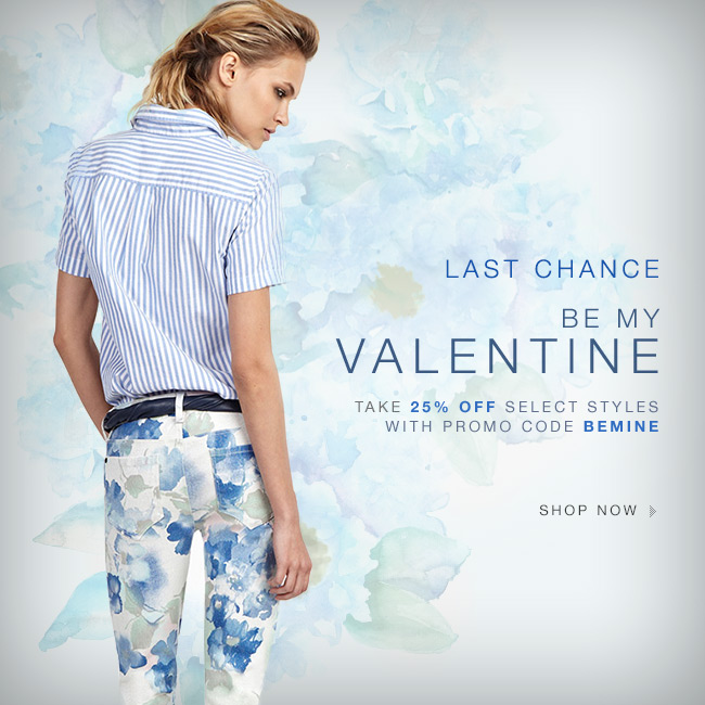 Last Chance | 25% Off Valentine Styles