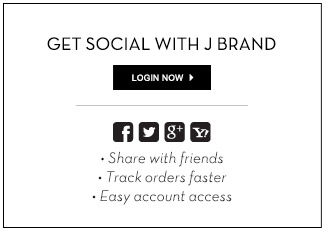 Get Social With J BRAND