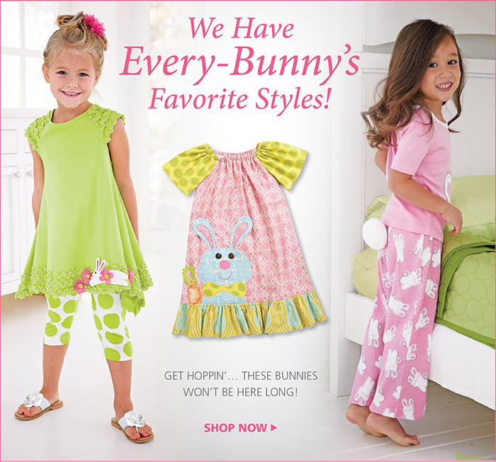 Hop on over and shop our Easter Styles!