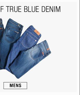 Shop Our Range Of True Blue Denim - Mens