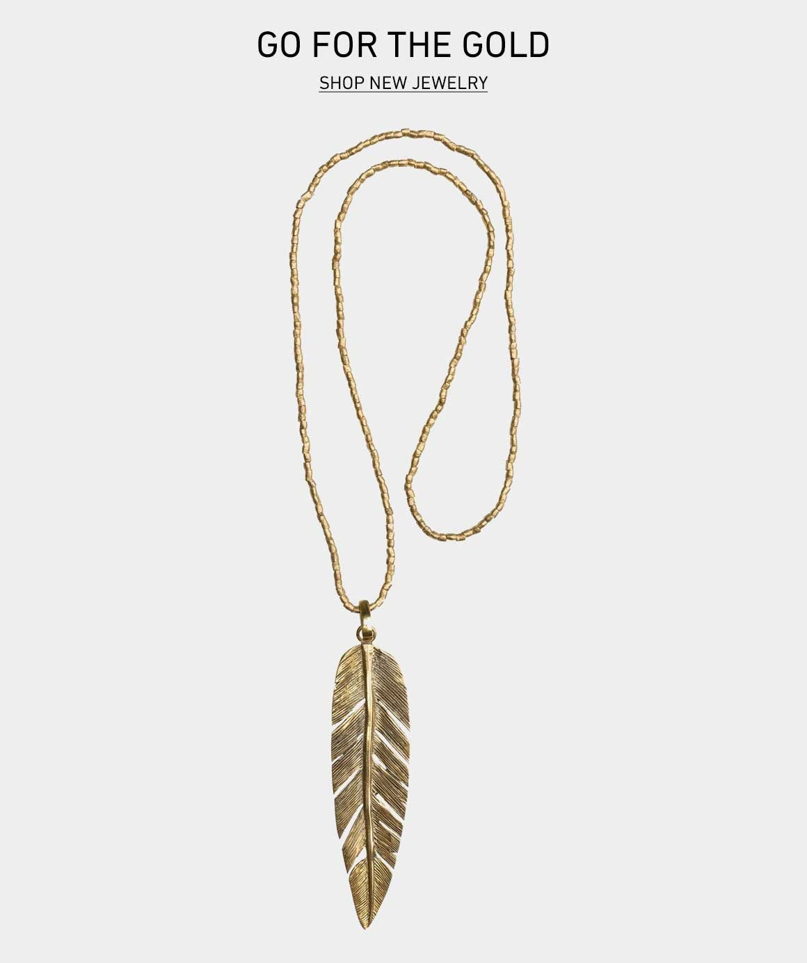 Spring Gold: Shop New Jewelry