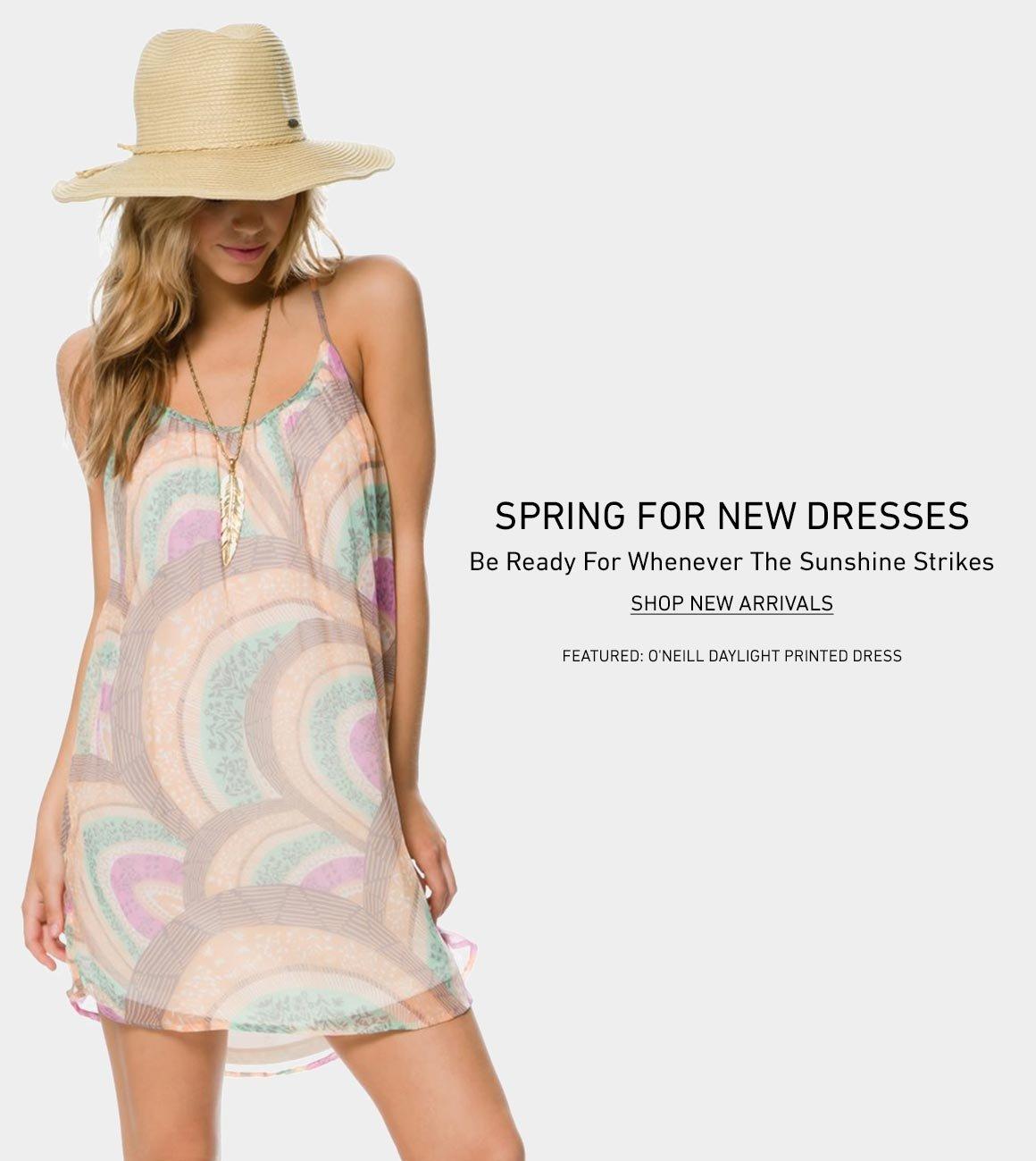 Spring For New Dresses