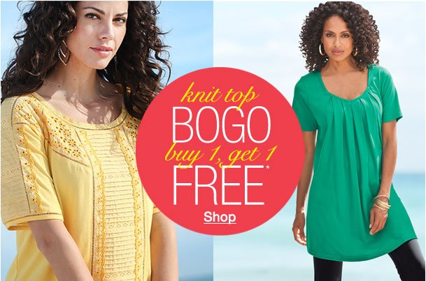 Knit top BOGO! Buy 1, Get 1 Free!