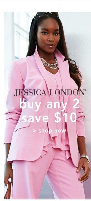 Shop Jessica London buy any 2 save $10