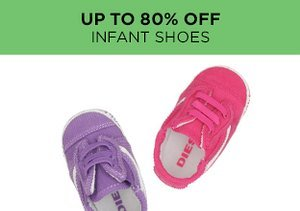 Up to 80% Off: Infant Shoes