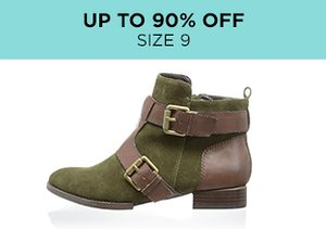 Up to 90% Off: Shoes Size 9