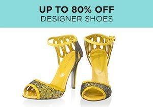 Up to 80% Off: Designer Shoes