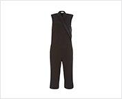 Black Bermuda Jumpsuit