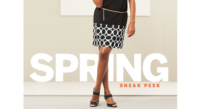 Spring Sneak Peek