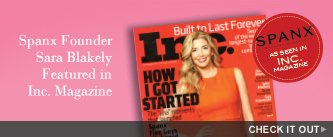Spanx Founder Sara Blakely Featured in Inc. Magazine. Check It Out!
