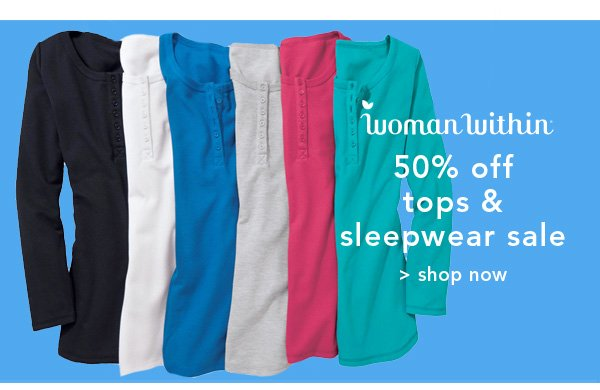 Shop Woamn Within Tops & Sleepwear Sale