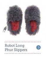 Robot Long Phur Slippers