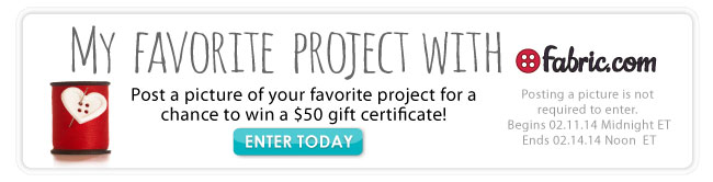 My Favorite Project Sweepstakes