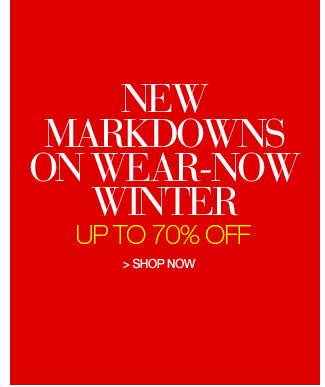Shop New Markdowns, Up to 70% Off
