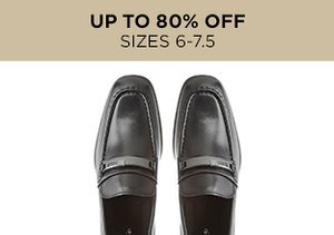 Up to 80% Off: Shoes Sizes 6-7.5