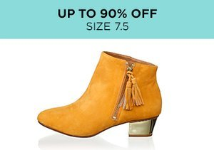 Up to 90% Off: Shoes Size 7.5