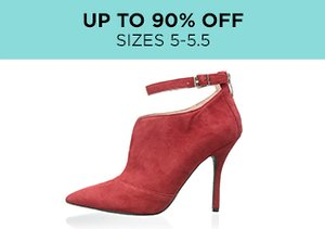Up to 90% Off: Shoes Sizes 5-5.5